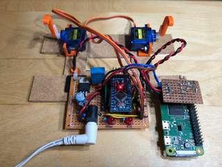 controller with pi zero